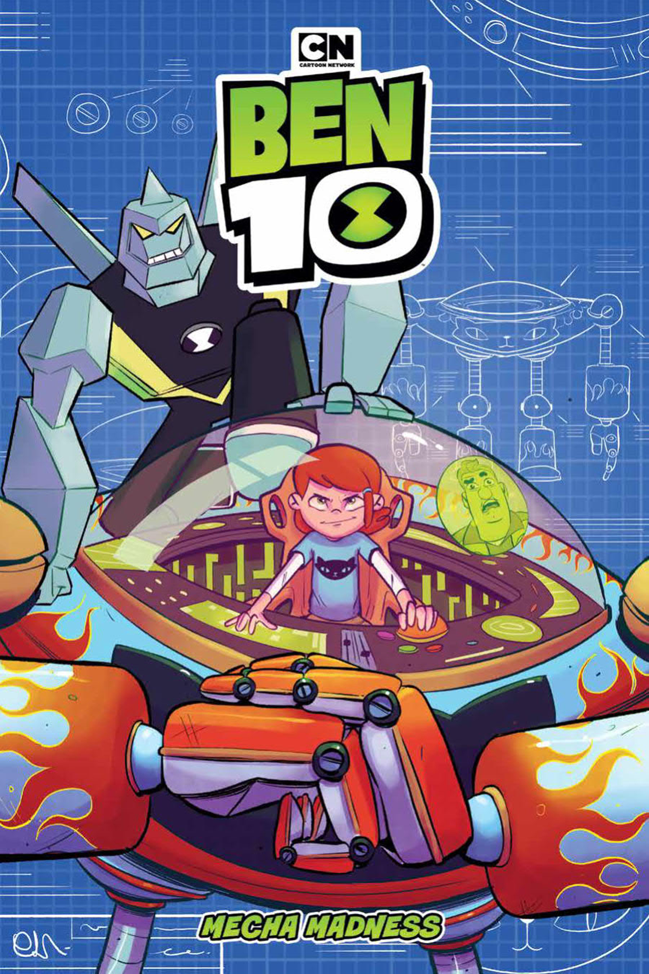BEN 10 ORIGINAL GN MECHA MADNESS