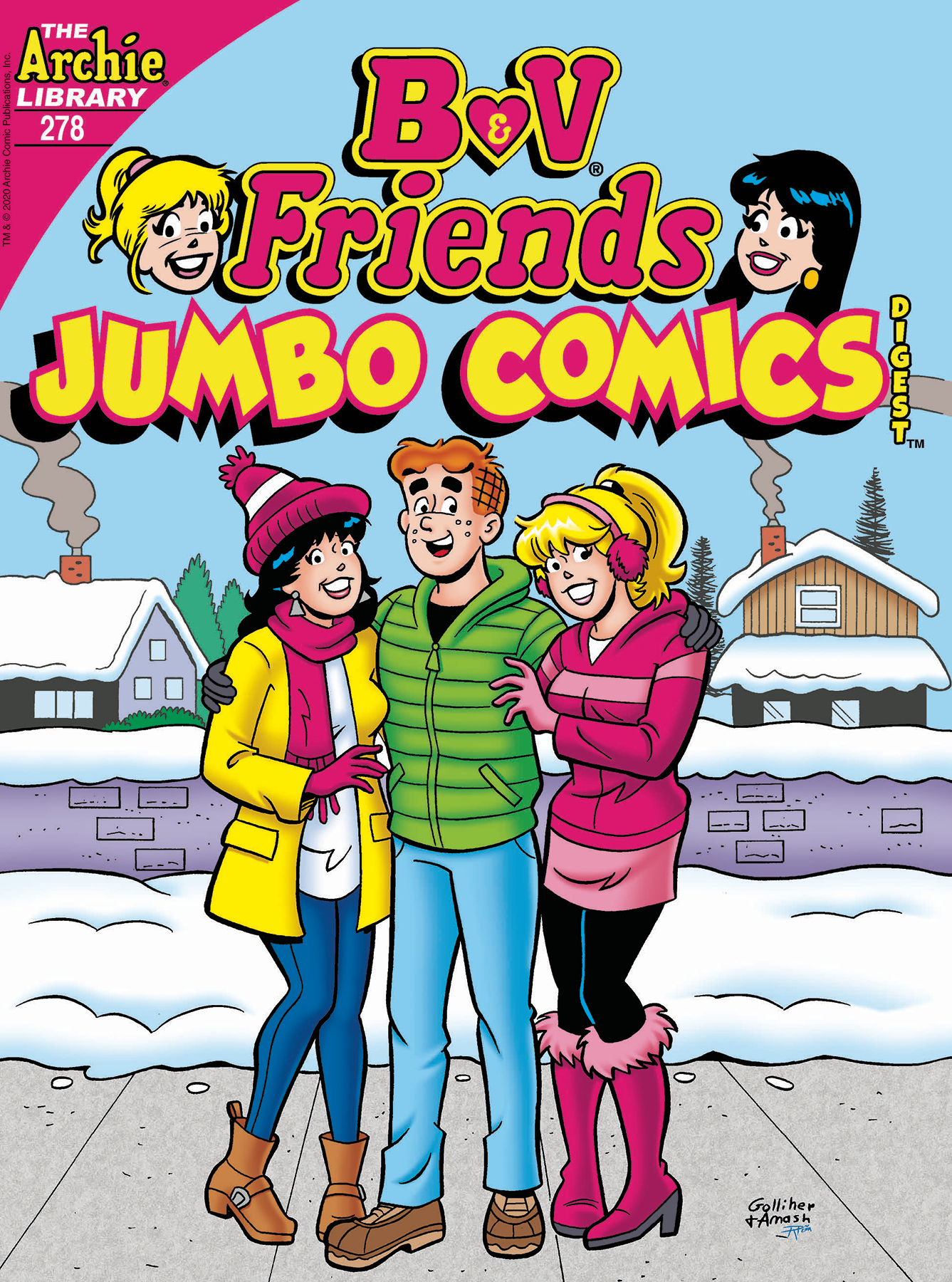 B & V FRIENDS JUMBO COMICS DIGEST #278