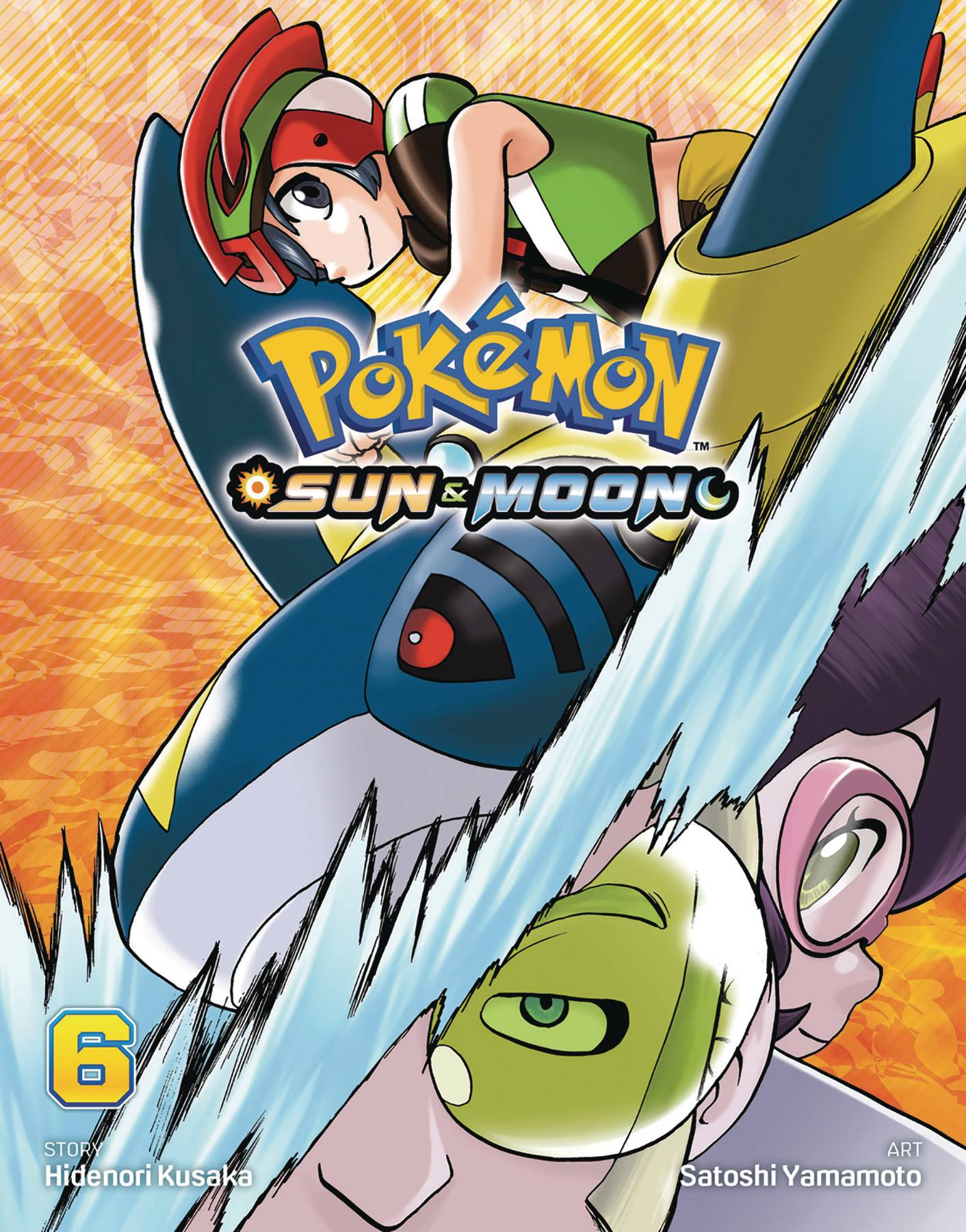 POKEMON SUN & MOON GN VOL 06
