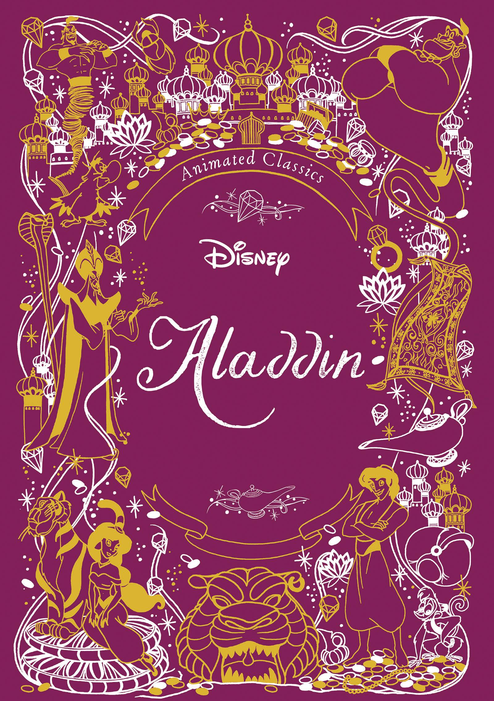DISNEY ANIMATED CLASSICS ALADDIN HC
