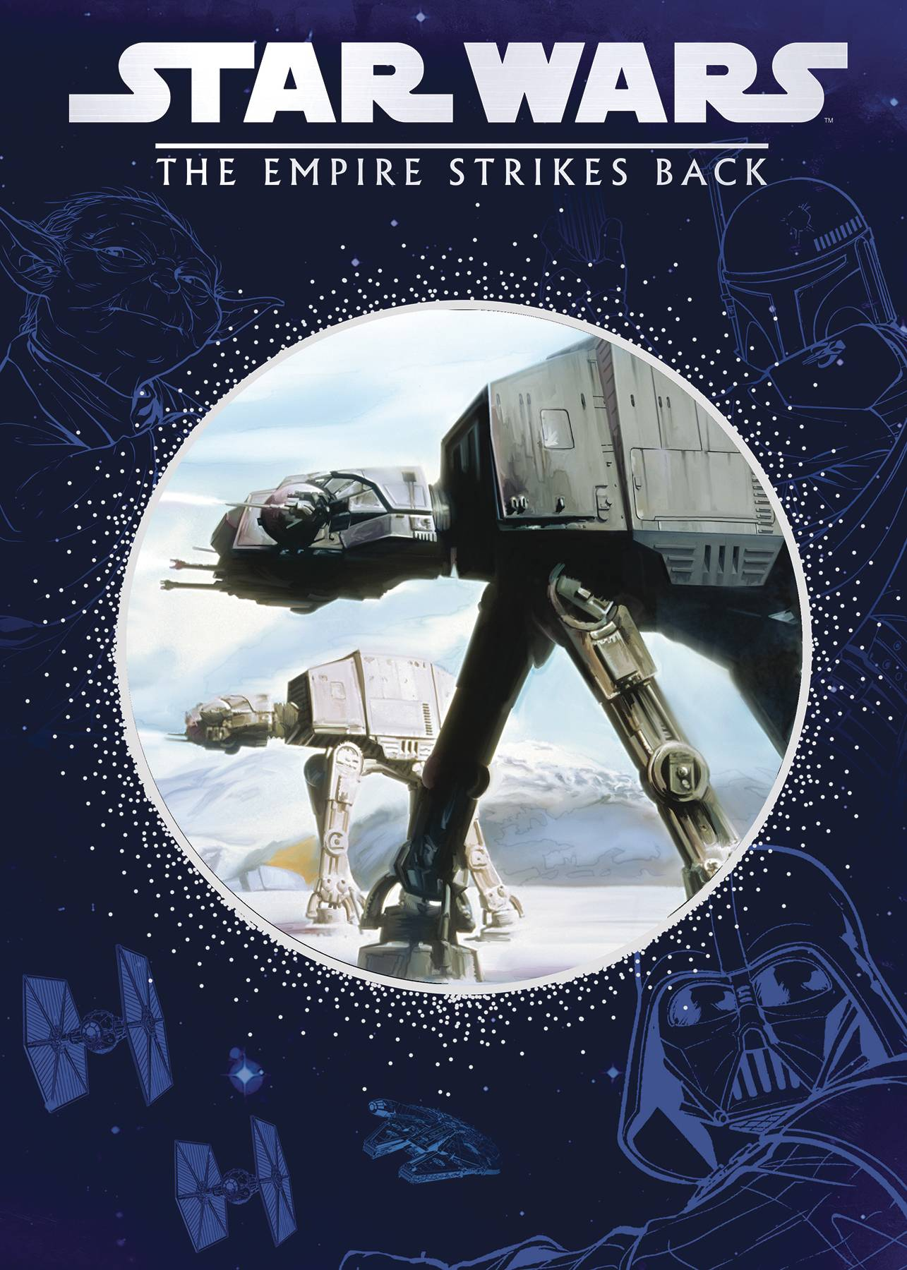STAR WARS EMPIRE STRIKES BACK STORYBOOK DIE CUT CVR
