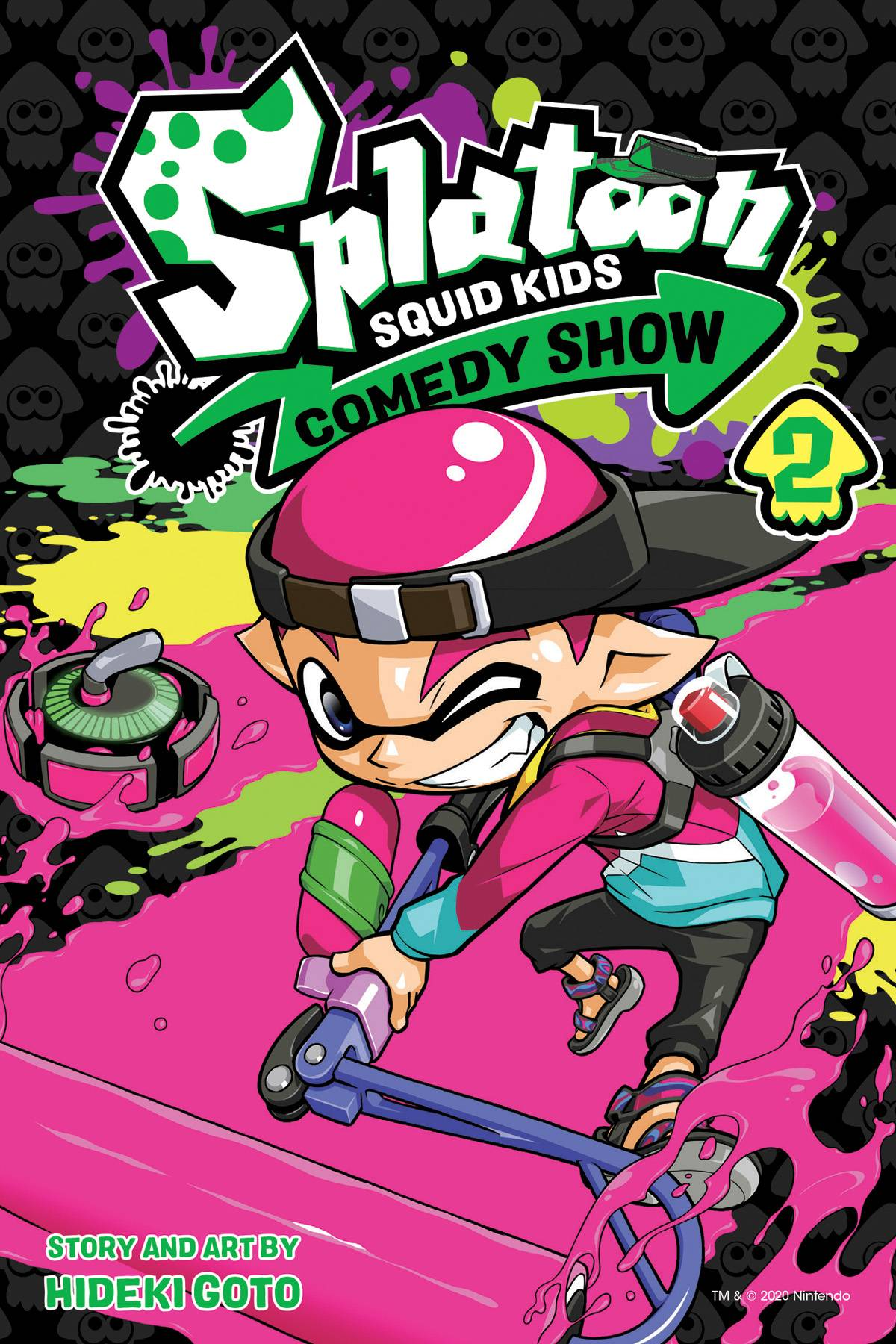 SPLATOON SQUID KIDS COMEDY SHOW GN VOL 02