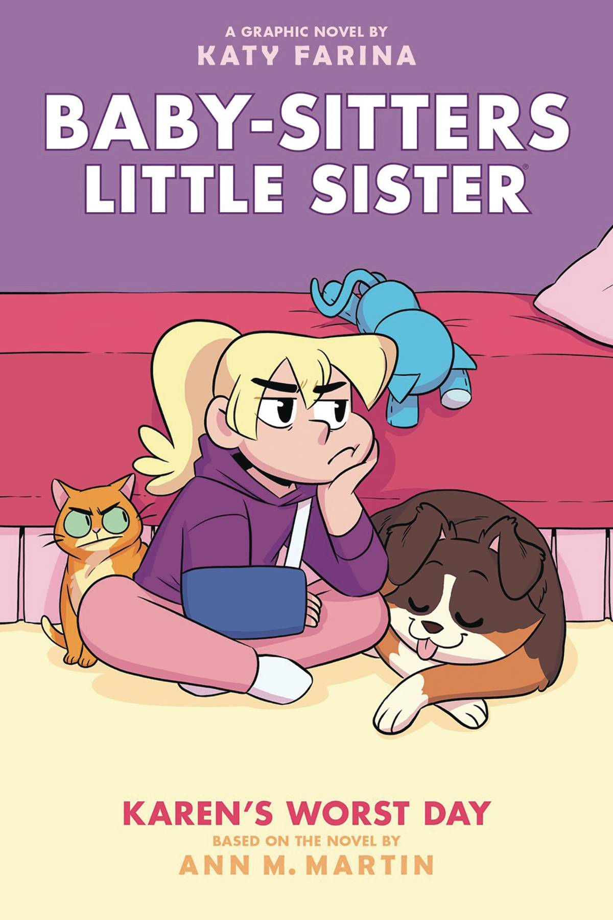BABY SITTERS LITTLE SISTER HC GN VOL 03 KARENS WORST DAY