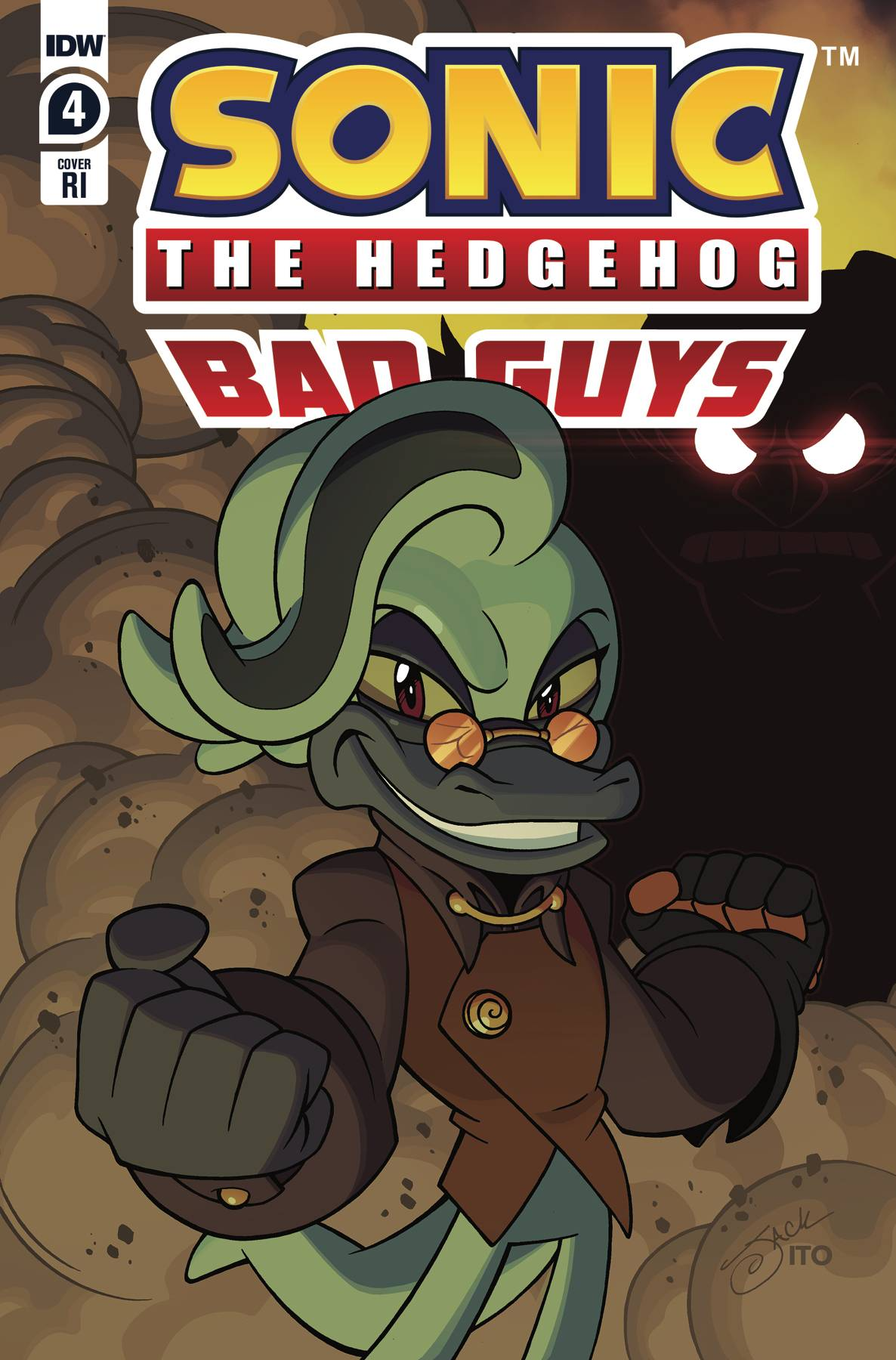 SONIC THE HEDGEHOG BAD GUYS #4 (OF 4) CVR A HAMMERSTROM