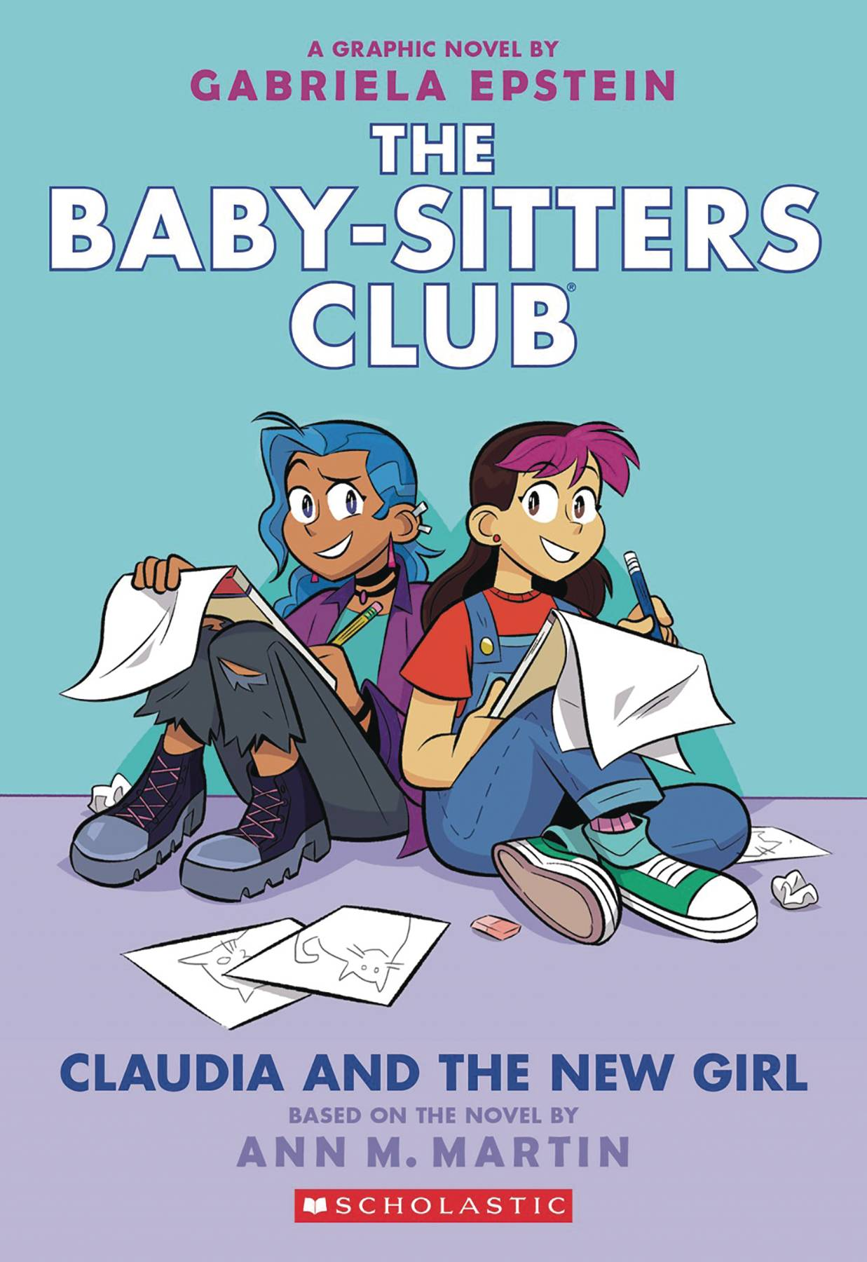 BABY SITTERS CLUB COLOR ED GN VOL 09 CLAUDIA & NEW GIRL